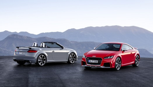 Yeni Audi TT RS Coupe ve Roadster 400 hp